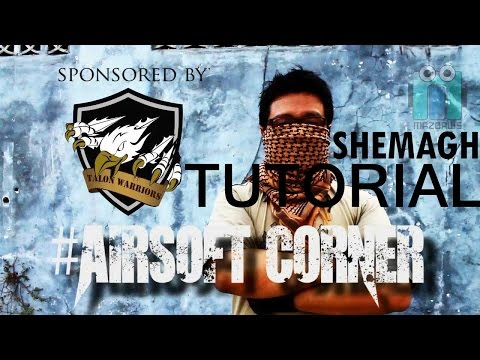 Airsoft Corner | Tutorial Shemagh | Keffiyeh Tutorial