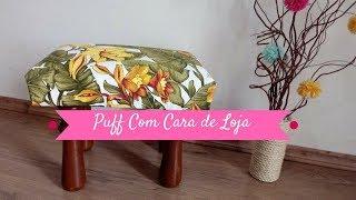 DIY: PUFF COM CARA DE LOJA