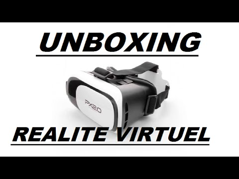 casque de r alit virtuelle px 2 0 unboxing youtube