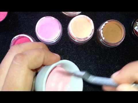 Elegant 💅💅COMO HACER COLOR CORAL Y CAFE CLARO   YouTube