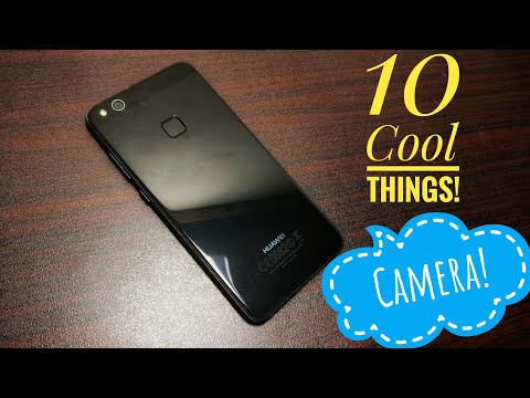 10 Cool Things To Do With The Camera On Huawei P10 Lite!
