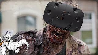 """VIRTUAL REALITY ZOMBIE APOCALYPSE!!!""  HTC Vive HordeZ Virtual Reality (VR) Zombie Shooter Game!"