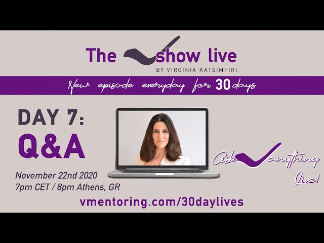 The VShow Live Day 7: Ask V Anything
