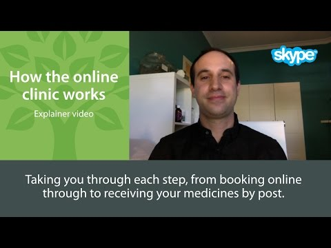 How the online clinic works