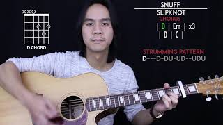 Snuff Guitar Cover Acoustic - Slipknot 🎸 |Tabs + Chords|