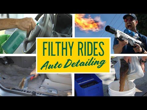 Filthy Rides: Full Interior Detailing 2008 Toyota Sienna