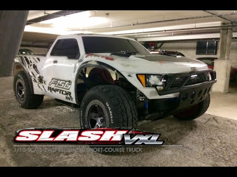 Traxxas Slash Brushless On Road Setup & Running Video - JPRC