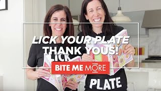 Lick Your Plate Cookbook - Thank You Video