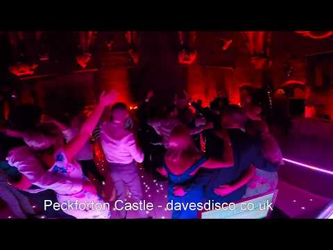 Peckforton Castle, DJ Dave Jones, daves disco, wedding DJ in cheshire