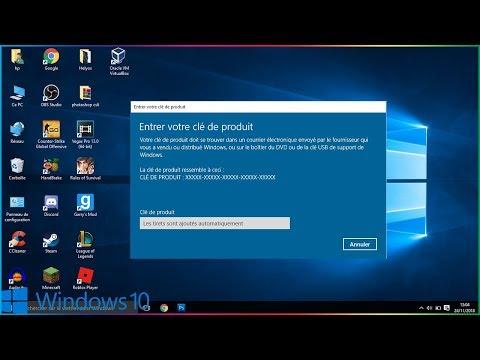 comment-activer-une-cle-windows-10-pro-gratuitement-et-a-vie-!