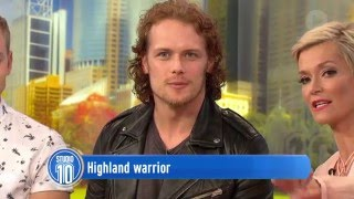 Outlander Star Sam Heughan on Studio 10