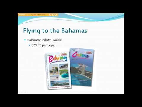 Flying to the Bahamas Presentation
