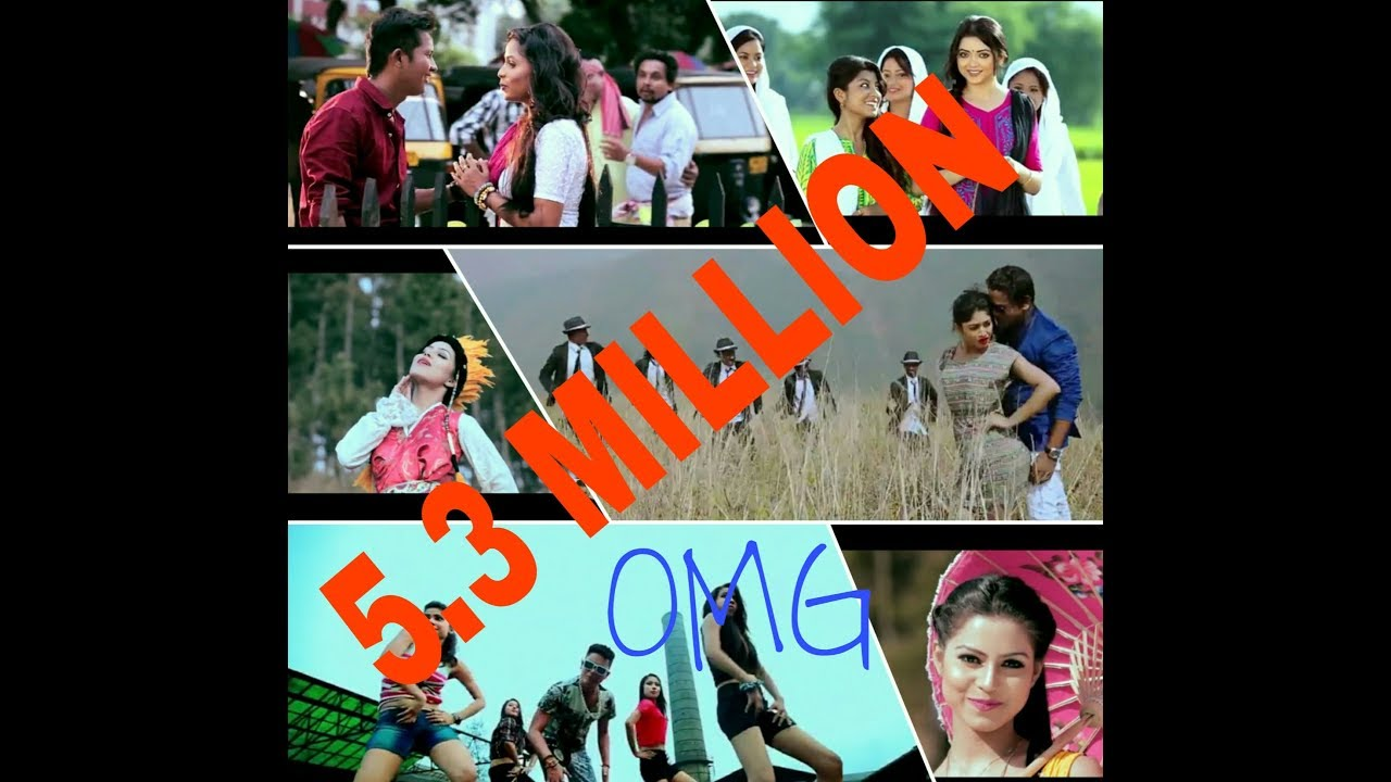 Top 5 most viewed assamese song in Youtube