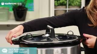 KitchenAid 92395 Artisan Slow Cooker Overview - Appliances Online