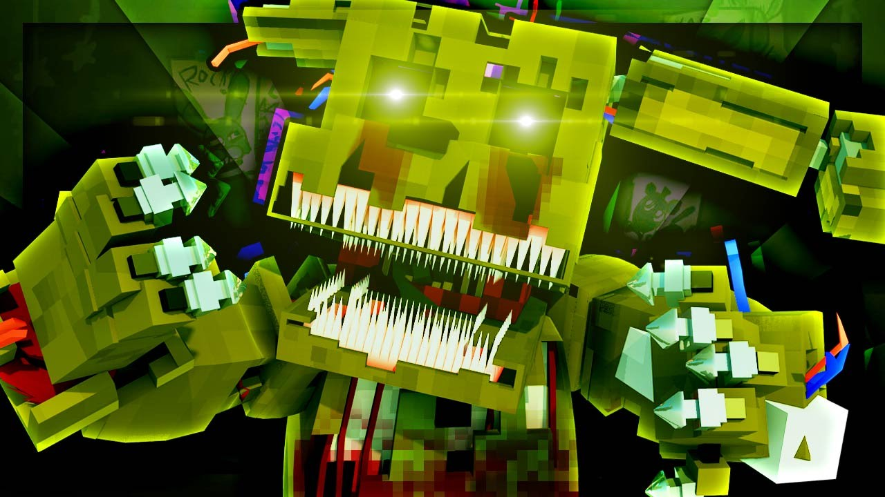 Freddy Fazbear Origins Nightmare Springtrap Minecraft