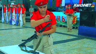 Керчь: юные воспитанники ДОСААФ к бою готовы