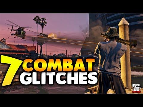 GTA 5 Online 7 COMBAT GLITCHES THAT WILL HELP YOU WIN EVERY GUN FIGHT! Best Combat Glitches & Tricks