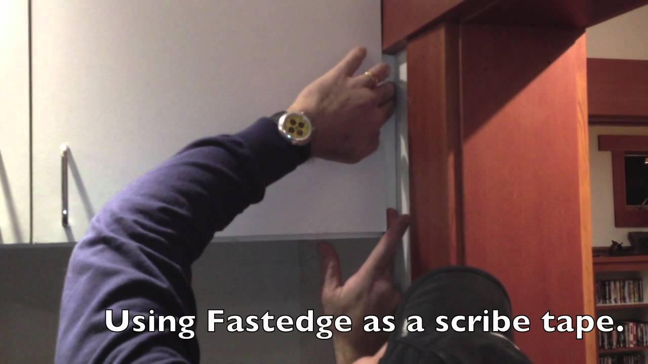 Fastedge As A Scribe Molding Youtube