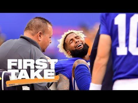 J.J. Watt or Odell Beckham Jr.: Which injury is bigger loss? | First Take | ESPN