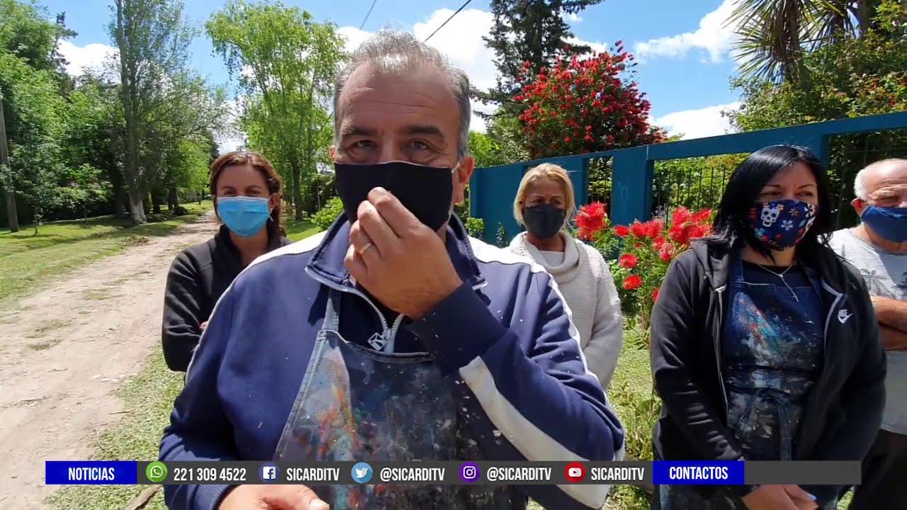 Policía retirado intenta usurpar una vivienda en Arana