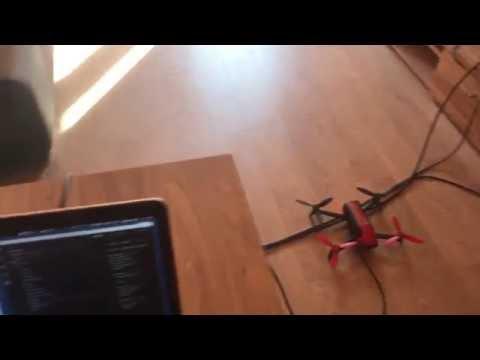 Parrot drone bebop 2 initial javascript node.js connection