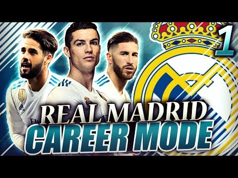 FIFA 18 Real Madrid Career Mode #1 - HARD TIMES CALL FOR DRASTIC MEASURES! GALACTICO REBIRTH!