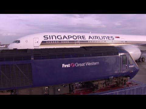 Rail-Fly Partnership Launch in the UK | Singapore Airlines