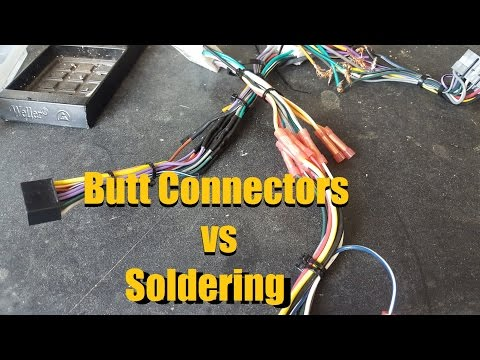 Butt Connectors vs Solder | Crimping vs Soldering | Wire Connections