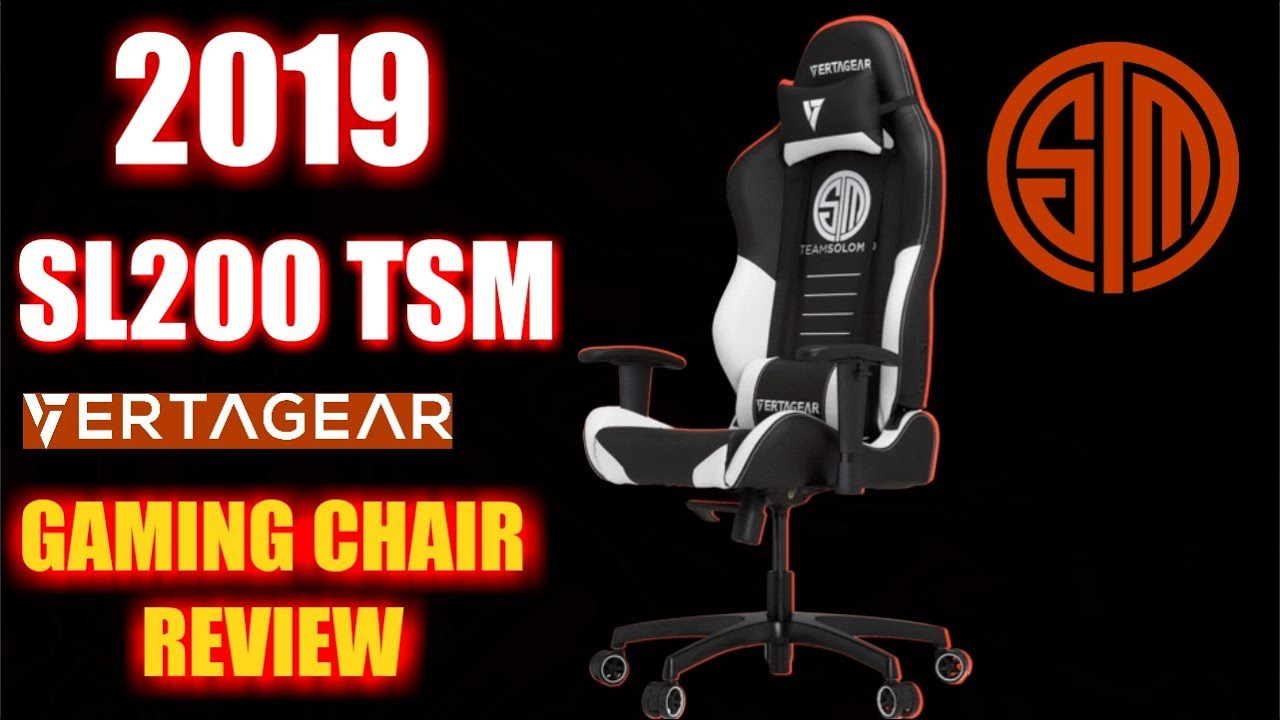 2019 VERTAGEAR SL2000 LARGE (TSM): GAMING CHAIR REVIEW