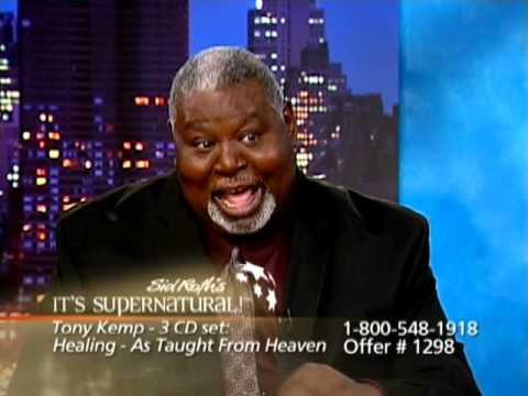 Tony Kemp 2 on It's Supernatural with Sid Roth - Healing