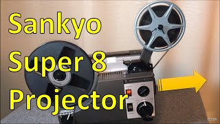 Review: Sankyo Super 8 Projector With Groovy Slo-Mo Functions