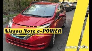 Nissan Note 1.2 e-POWER X 2017 для нашего клиента, Джапан стар отзывы