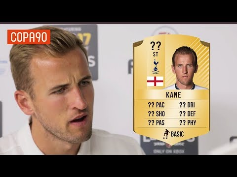 Exclusive: Harry Kane Reacts To His FIFA 17 Rating