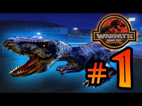 T-Wrecks!! || Warpath Jurassic Park (PS1) Ep 1 [ Jurassic Park Month ]
