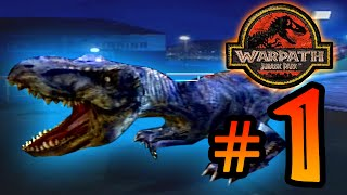 T-Wrecks!! || Warpath Jurassic Park (PS1) Ep 1 [ Jurassic Park Month ]