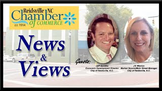 Episode #9 Reidsville Welcomes New Main Street Manager - RCOC News & Views Show