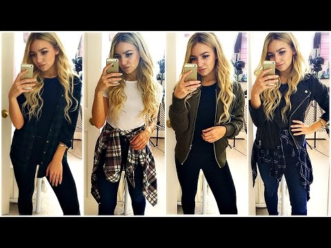 School Outfit Ideas / Summer & Winter  2016