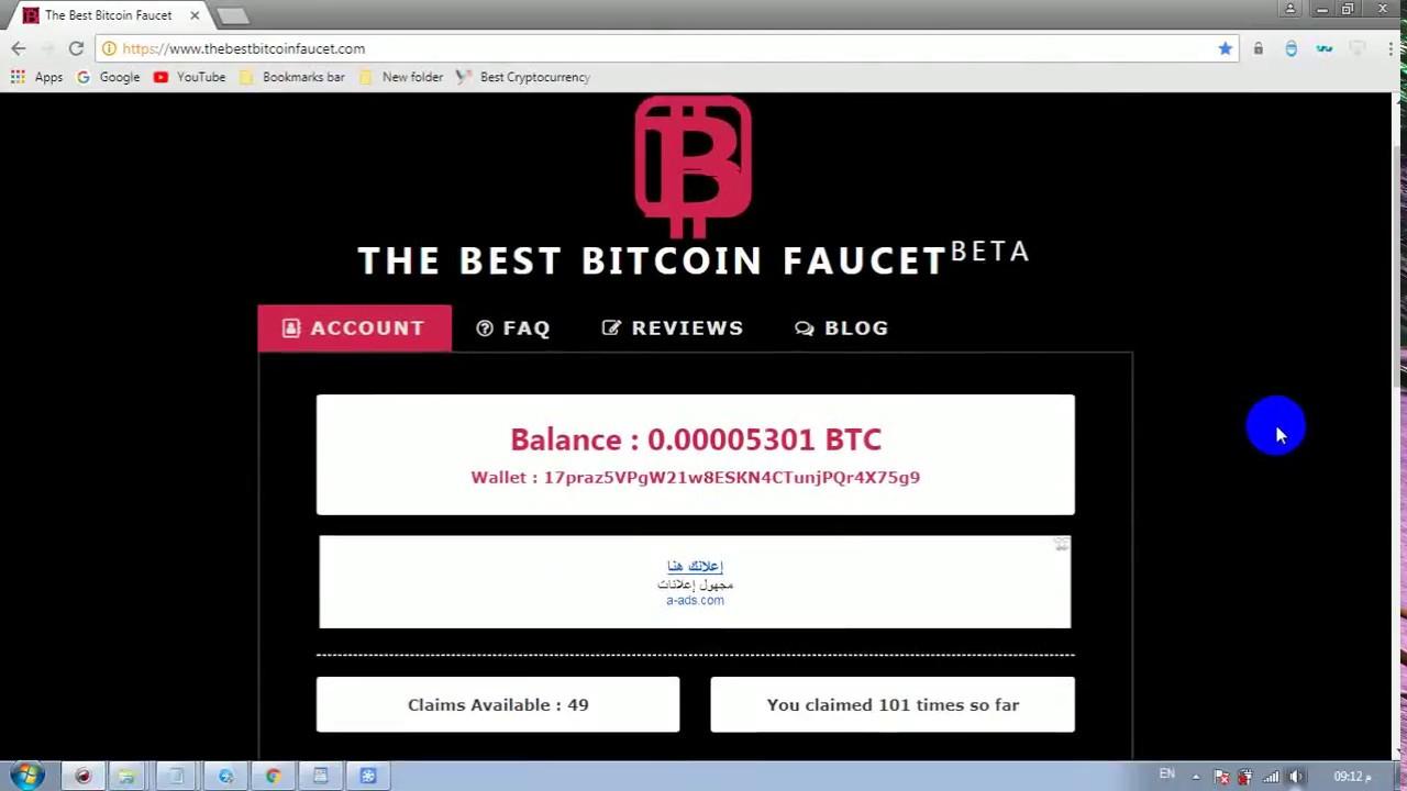 Bitcoin faucet bot 1 1 0 0 beta