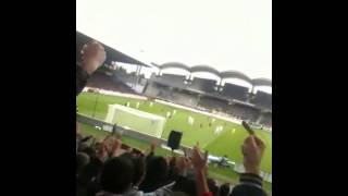 Lyon 3-1 Guingamp (CHANT ANTI-STÉPHANOIS)
