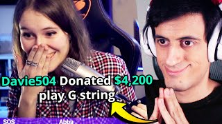 Donating to Musicians Streamers on Twitch BUT...