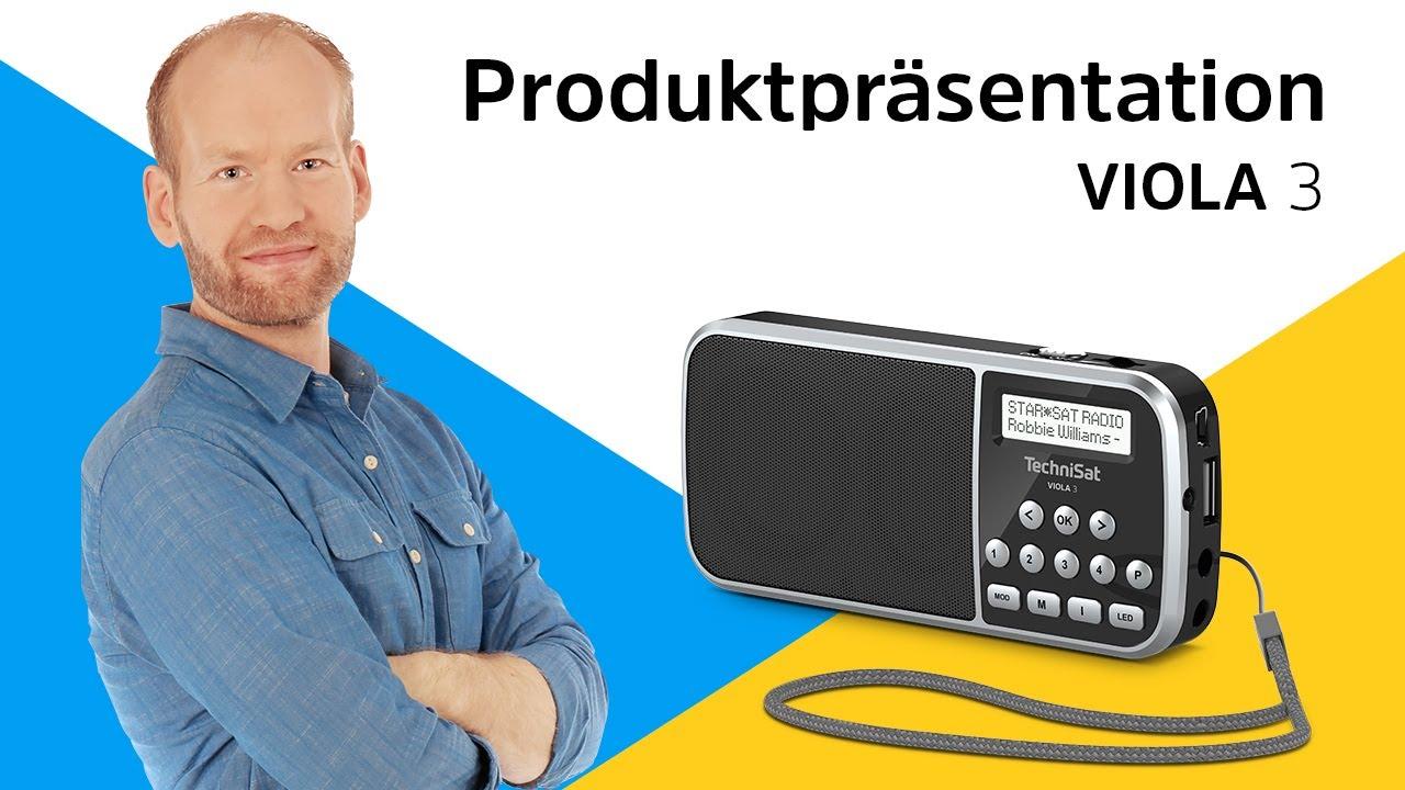 Video: VIOLA 3 | Portables DAB+/UKW-Taschenradio mit LED-Taschenlampenfunktion | TechniSat