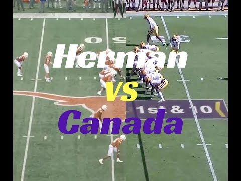 Matt Canada's LSU Offense vs Tom Herman's Texas Offense