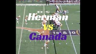 Matt Canada's LSU Offense vs Tom Herman's Texas Offense