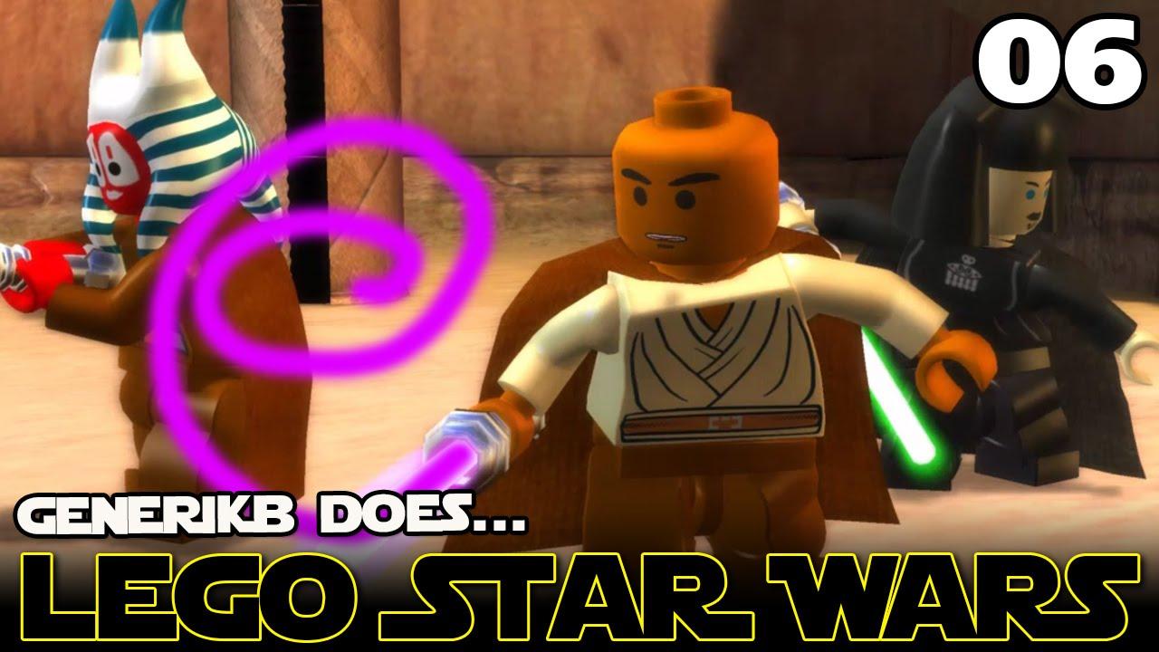 Lego Star Wars The Complete Saga Ep 06 Save Me Morgan Freeman