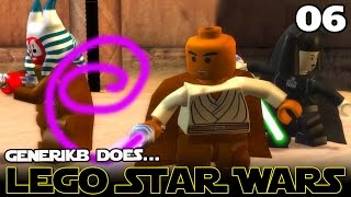 "LEGO STAR WARS The Complete Saga Ep 06 - ""Save Me Morgan Freeman!!!"""