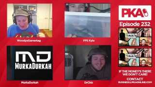 PKA 232 - Kyle Captures Snake, Woody Kills Mouse, Domesticated Wolves