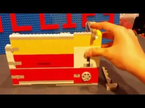 Ultimate Lego Safe Mechanism *Realistic Key Lock*