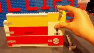 Ultimate Lego Safe Mechanism *Realistic Key Lock*
