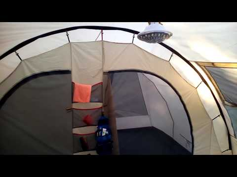 Обзор палатки Trek Planet Vario 5