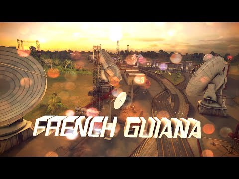 Asphalt 8: Airborne French Guiana Classic Fastest/Shortest Route - Tip